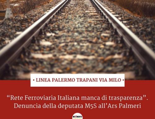"""RFI manca di trasparenza"". Denuncia della deputata M5S all'Ars Palmeri"