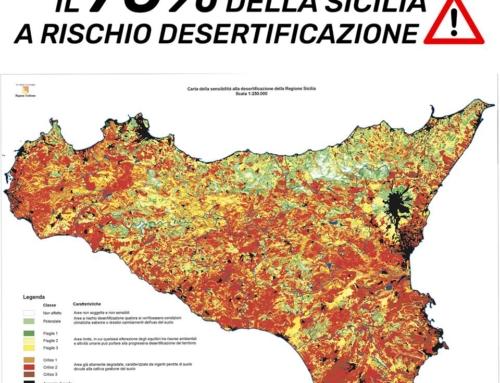 Sicilia: Palmeri (M5S), 70% Isola a rischio desertificazione, al via tavolo lavoro per proposte a Costa