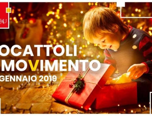 Giocattoli in Movimento. Il 6 gennaio gazebo nelle piazze siciliane dove i bimbi potranno scambiarsi libri e giocattoli