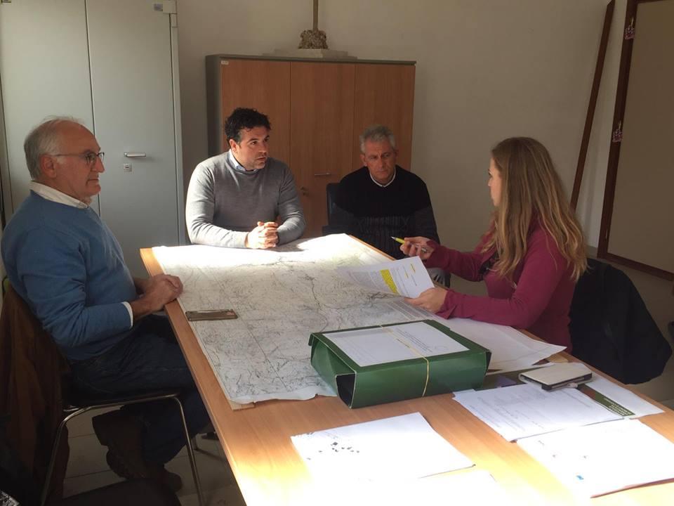 Parco Elimi: incontro con l'assessore ai lavori pubblici del Comune di Custonaci l'ing. Michele Riccobene