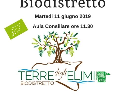 Firmato l'atto costitutivo del biodistretto 'Terre degli Elimi'