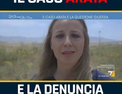 Caso Arata: la mia intervista su La7