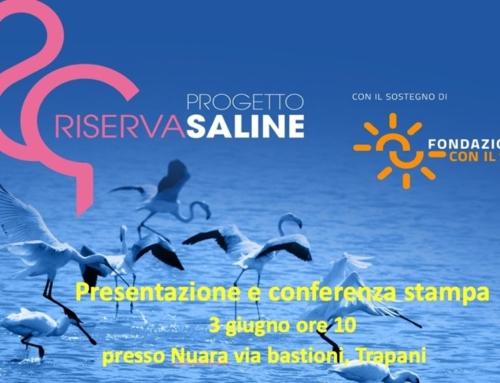 """Conferenza stampa """"Progetto Riserva Saline """""""