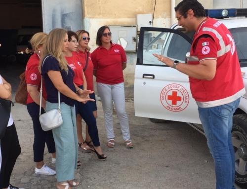 Visitata presso la sede della Croce Rossa Italiana di Alcamo