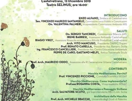 Giovedì 12 Dicembre, Castelvetrano: Macchia Mediterranea e Paesaggio Siciliano