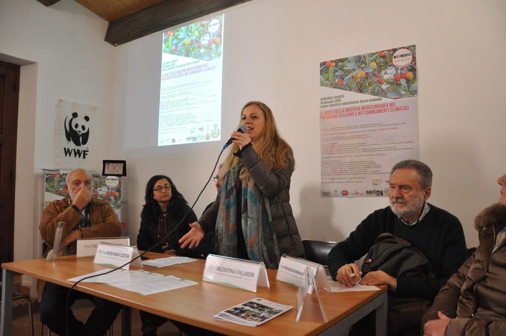 """Calatafimi Segesta: i lavori dell'incontro su """"Macchia Mediterranea e Cambiamenti Climatici"""""""