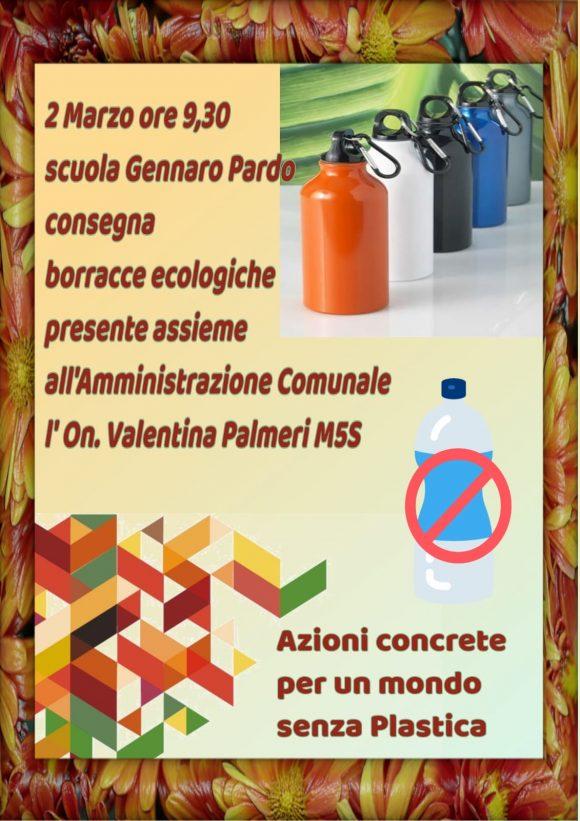 Borracce ecologiche con gli studenti di Castelvetrano
