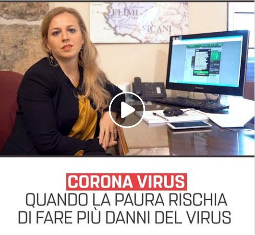 Coronavirus: quando la paura rischia di fare più danni rischia di fare più danni del virus