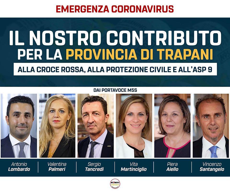 Coronavirus: il nostro contributo per la provincia di Trapani