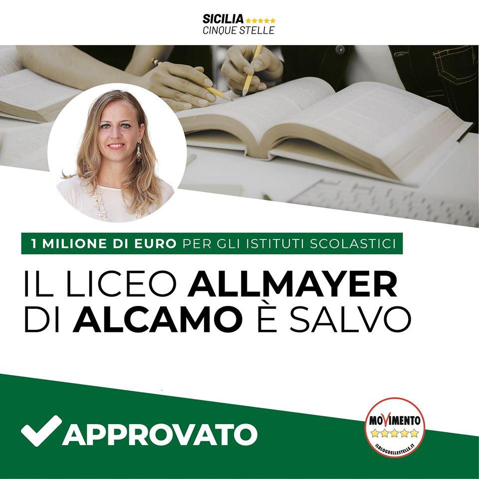 Il liceo Allmayer di Alcamo è salvo
