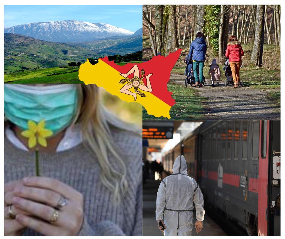 I siciliani vogliono tornare a casa e a passeggiare nei parchi